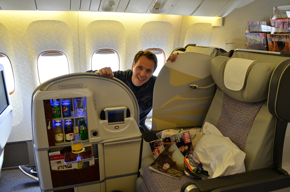 Flying First Class Emirates
