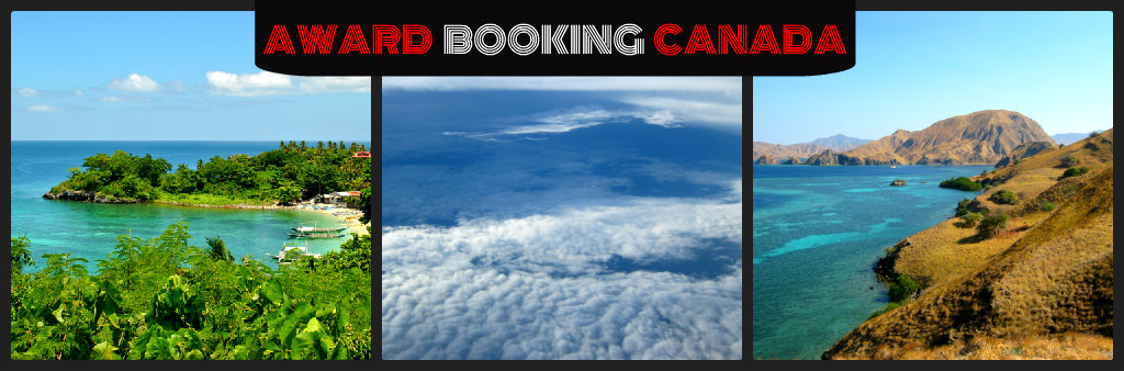 Award booking canada book reward flight