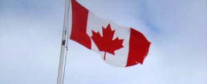 canadian flag small