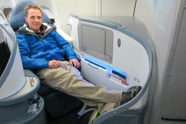 business class Air canada
