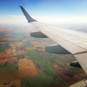 flying over alberta